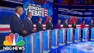 Watch Closing Statements Of The Democratic Debate's First Night   NBC News