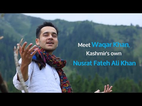 Meet Waqar Khan, Kashmir's own Nusrat Fateh Ali Khan