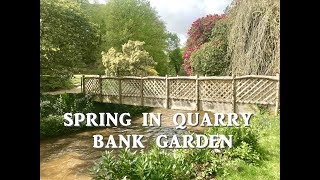 UK. SPRING IN QUARRY BANK GARDEN