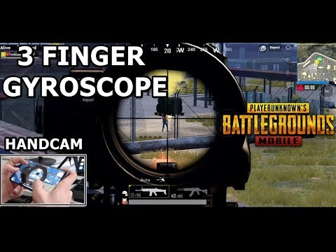3 Finger Claw + Gyroscope PUBG Mobile Best Control Setup | Pro Claw