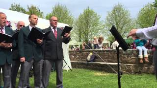 Guide Me Oh Thou Great Jehovah. Guernsey Welsh Male Voice Choir, May 2015.