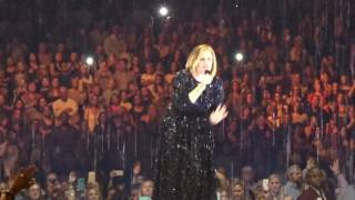 Adele -Set Fire To The Rain (Live In Dallas, TX At American Airlines Center November 1, 2016)