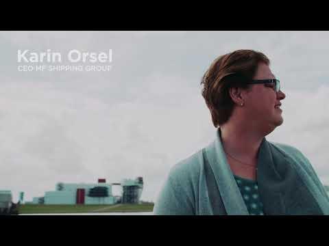 AEGIR-Marine & MF Shipping Group - Portret Karin Orsel