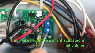 How to Program the Potentiometer For Crushed Ice