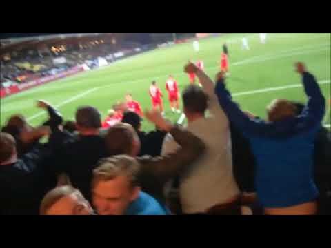 Sfeer uitvak Telstar - FC Twente