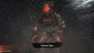 Sekiro: Shadows Die Twice - Chained Ogre Boss Fight