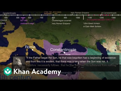 The Council Of Nicaea Video Khan Academy