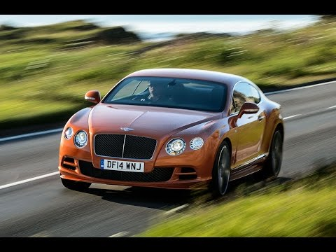 Driving Bentley's new 206mph Continental GT Speed on the track