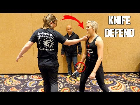 How to defend a knife using JKD | Master Wong