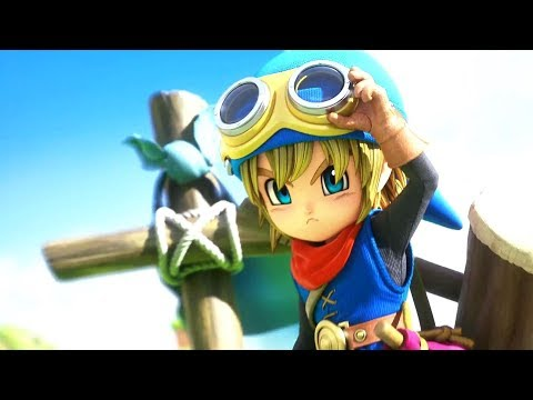 Gameplay de la version Switch - Partie 1  de Dragon Quest Builders