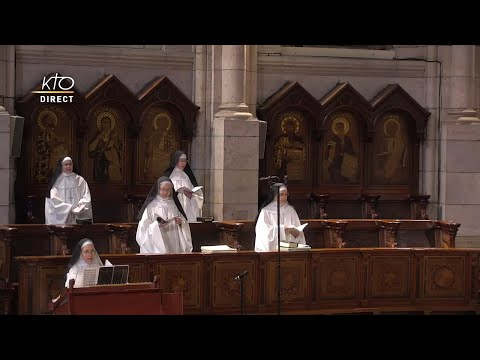 Prière du Milieu du jour du 16 février 2021 des Bénédictines du Sacré-coeur de Montmartre