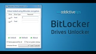 How to unlock Bitlocker encrypted drive without password and recovery key Window 7/8/10