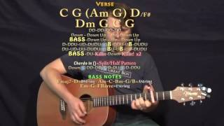 I Wish It Could Be Christmas All Year Long (Willio and Phillio) Guitar Lesson Chord Chart - Capo 3rd
