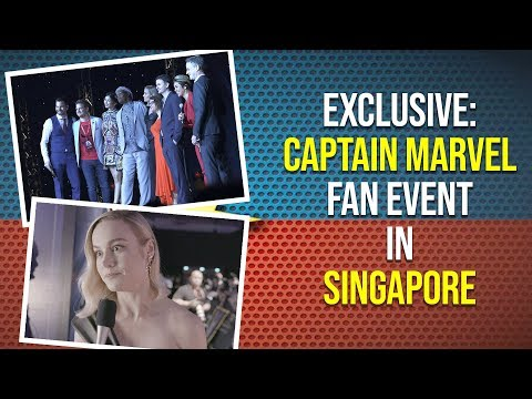 EXCLUSIVE: Captain Marvel Fan Event in Singapore | Pinkvilla | Lifestyle