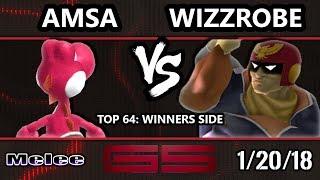 GENESIS 5 SSBM - VGBC   aMSa (Yoshi) VS Fry's   Wizzrobe (Captain Falcon) - Melee Top 64 Singles - dooclip.me
