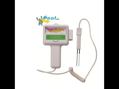 Pool pH-Messgerät und Chlor-Messgerät
