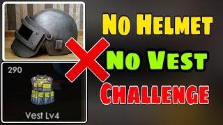 No Helmet No Vest Challenge || Garena Free Fire || Desi Gamers