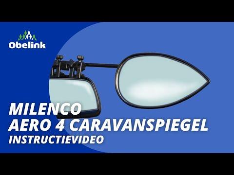 Milenco Aero 3 Caravanspiegels monteren | Instructievideo | Obelink