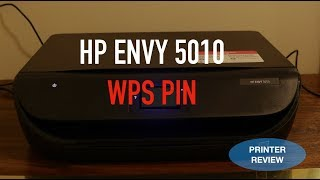 HP Envy 5010 WPS Pin Number review.