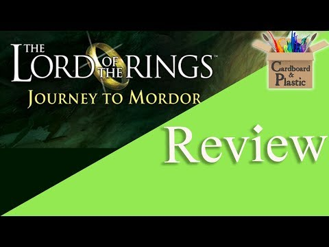 Lord of the Rings: Journey to Mordor - Cardboard N' Plastic Review