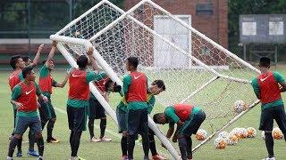 Timnas U-22 Jalani Latihan Terakhir sebelum Berangkat ke Kamboja