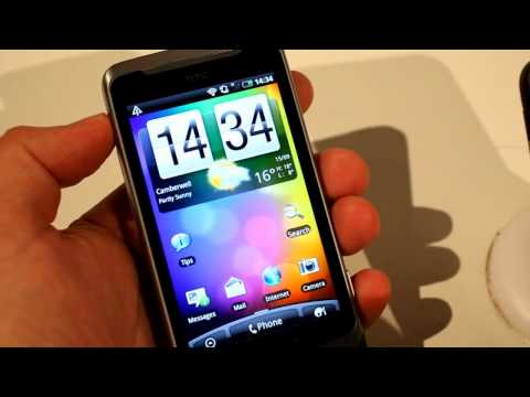 Youtube Video HTC Desire Z Vodafone Ware in grey