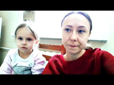 Vlog:Пробуем лапшу вок.Эличка сильно заболела.Подарки нашим девочкам.