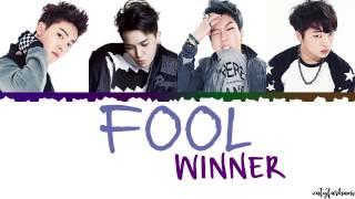 WINNER (위너) - FOOL Lyrics [Color   - YouTube