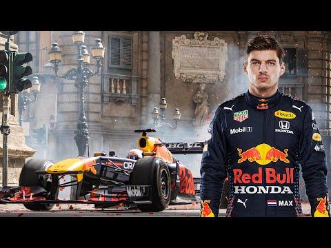 フェルスタッペンが市街地をF1マシンで激走。F1第14戦イタリアGP(モンツァ)RedBullのパフォーマンス動画