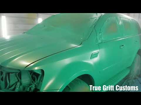 True Gritt Customs Chrysler Aspen on 30s outrageous paint job