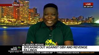 16 Days of Activism   Speaking out against GBV: Mjosty Mbhele