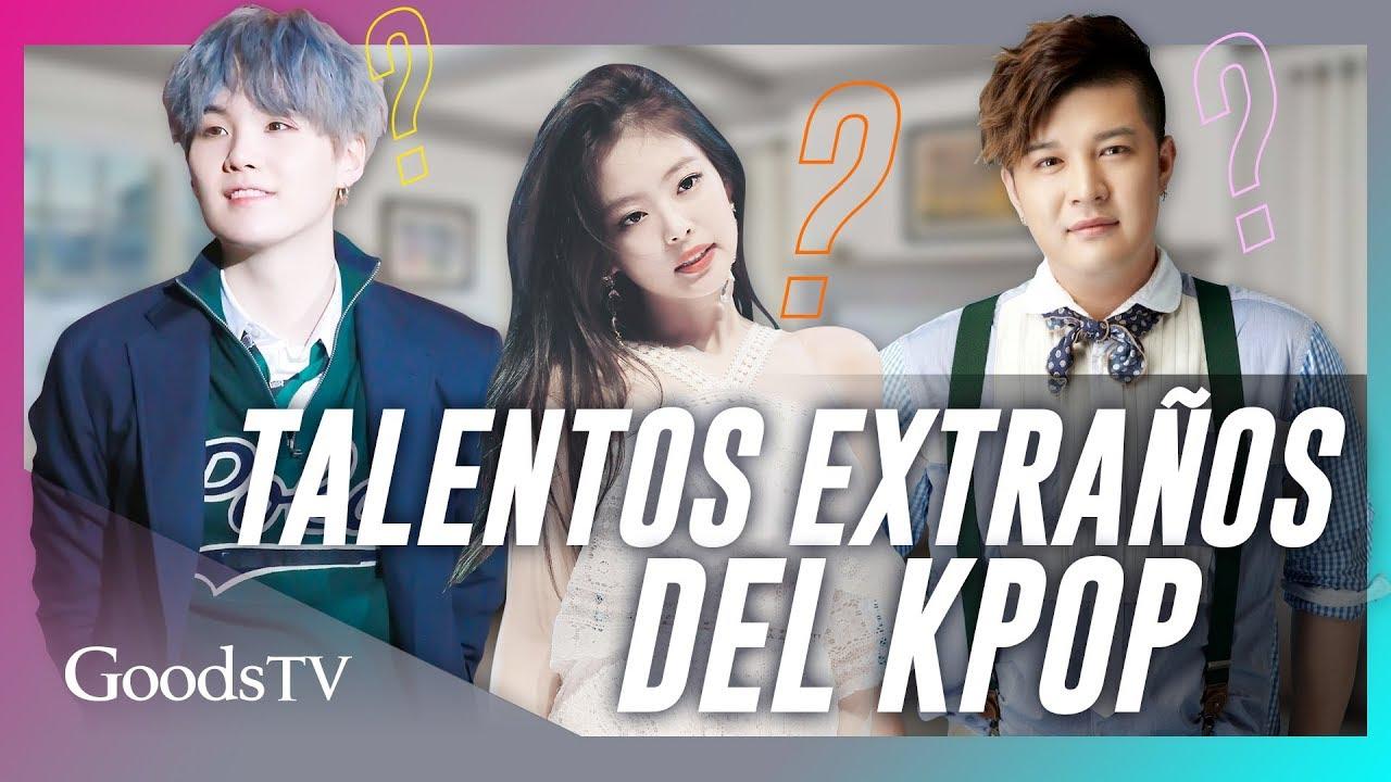 ¡Los TALENTOS MÁS EXTRAÑOS de los IDOLS del KPOP! / Parte 1