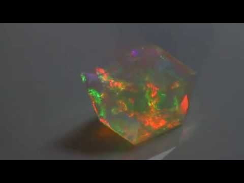 Welo Opal 27 Carat Faceted
