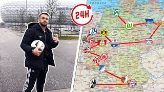 Alle Bundesliga Stadien in 24 Stunden besuchen!