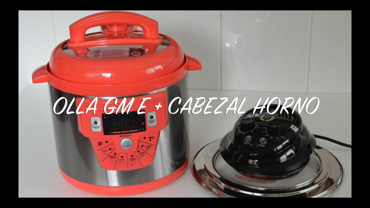 Unboxing OLLA GM E + Cabezal Horno Olla GM
