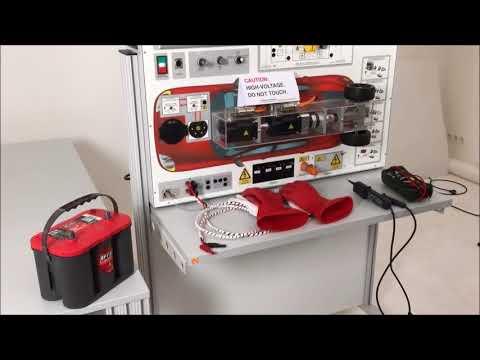 Hybrid and Electric Vehicle Training Hardware - YouTube