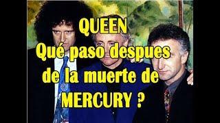 LOS REEMPLAZANTES DE FREDDIE MERCURY LUEGO DE SU MUERTE
