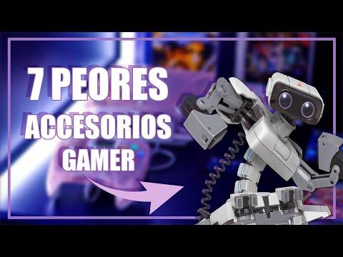 Top 7 PEORES ACCESORIOS GAMER parte 1// Geniales pero Estúpidos!!