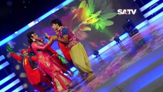 Remix Qawwali SATV Eid Dance By Mim Chowdhury & Shaed | Eid Dance Program