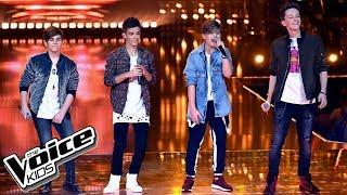 """4 Dreamers – """"Sekret"""" – Finał – The Voice Kids Poland"""
