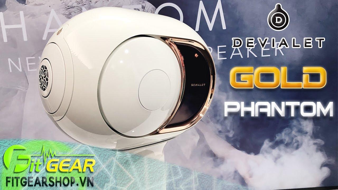 Devialet GOLD PHANTOM   Trải nghiệm chiếc loa Hi-End CAO CẤP - Công suất khủng 4500 Watt