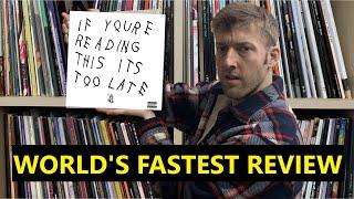 Reviewing Drake's IYRTITL in 10 seconds or less