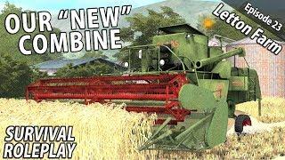 THE CLAAS MATADOR | Survival Roleplay | Farming Simulator 17 - Letton Farm - Ep 23