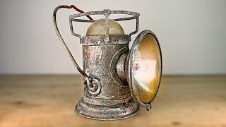 1960s Rusted Military Lantern Restoration