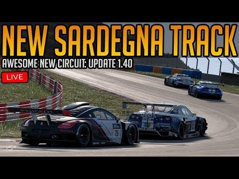 Gran Turismo Sport: Racing The Amazing New Sardegna Circuit   Update 1.40