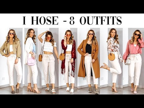 1 Hose - 8 Outfits (Frühling/Sommer) - TheBeauty2go