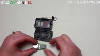How To Replace A Toyota Prius Key Fob Battery 2010 - 2013