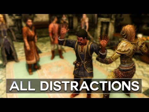 Skyrim - All Distractions at the Thalmor Embassy