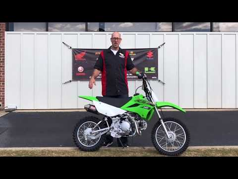 2020 Kawasaki KLX 110 in Greenville, North Carolina - Video 1