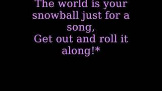 The Cheetah Girls - A Marshmallow World (with lyrics!)